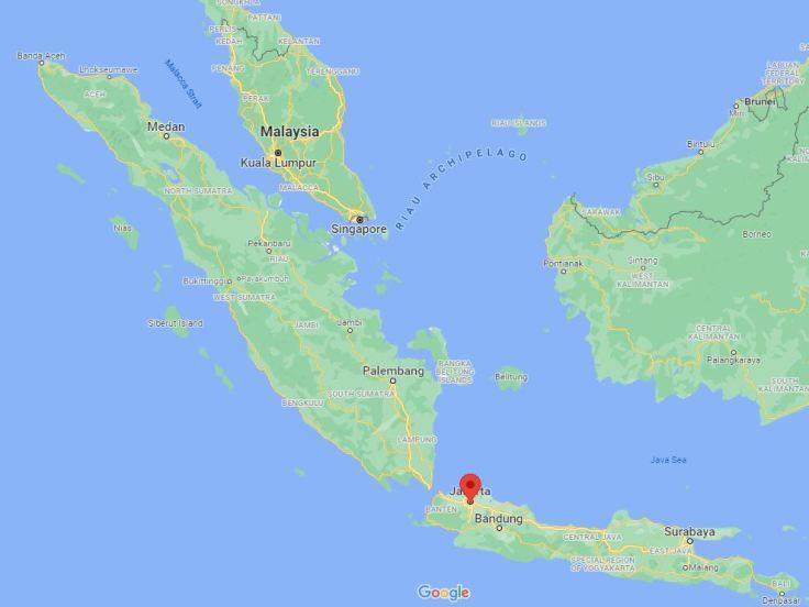 Jakarta, Indonesia to Singapore, Se Asia